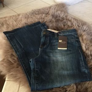 KUT from the Kloth Ally denim jeans.  Size 8